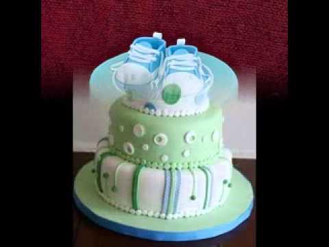 Easy DIY Baby shower cake decorating ideas boy - YouTube
