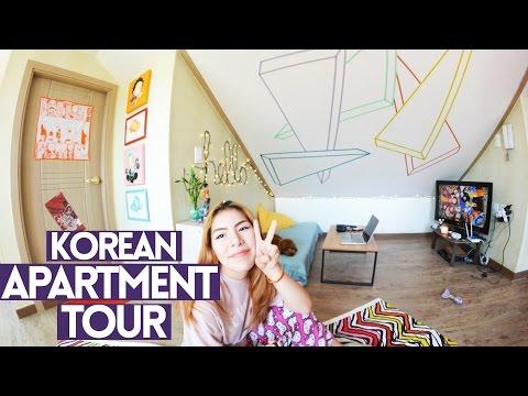 Huge Korean Apartment Tour ($437) | EPIK Teacher Apartment
