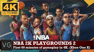 nba playgrounds early gameplay