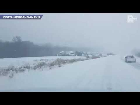 Julie Jones - 40 Car Pile Up Near Eau Claire Wisconsin Sunday Leaves 7 People Injured