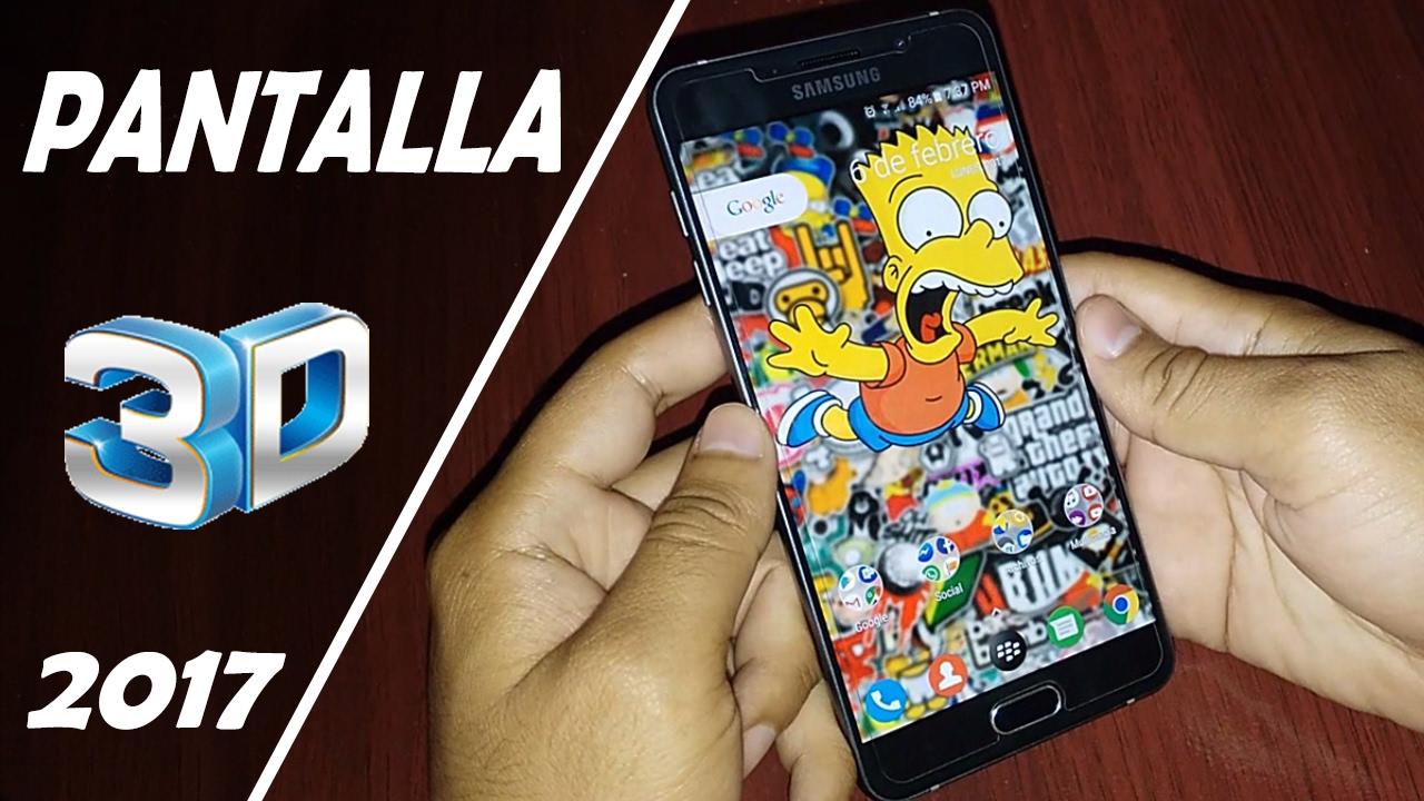 Fondos De Pantalla Para Celulares Android Y Iphone 2018: PANTALLA 3D EN CUALQUIER ANDROID 2017