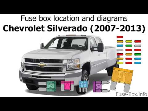 [TVPR_3874]  Fuse box location and diagrams: Chevrolet Silverado (2007-2013) - YouTube | Chevy Truck Fuse Block Diagrams |  | YouTube