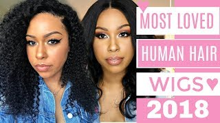 Most Loved Human Hair Wigs of 2018! TheHeartsandCake90