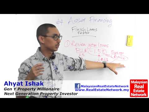 Property Investment Malaysia Tips - Asset Financing -Part 12- Finish Loan Faster- Episode 51