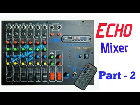 testing of 6 channel echo mixer vrct digital echo mixer full riview in hindi hindi youtube. Black Bedroom Furniture Sets. Home Design Ideas