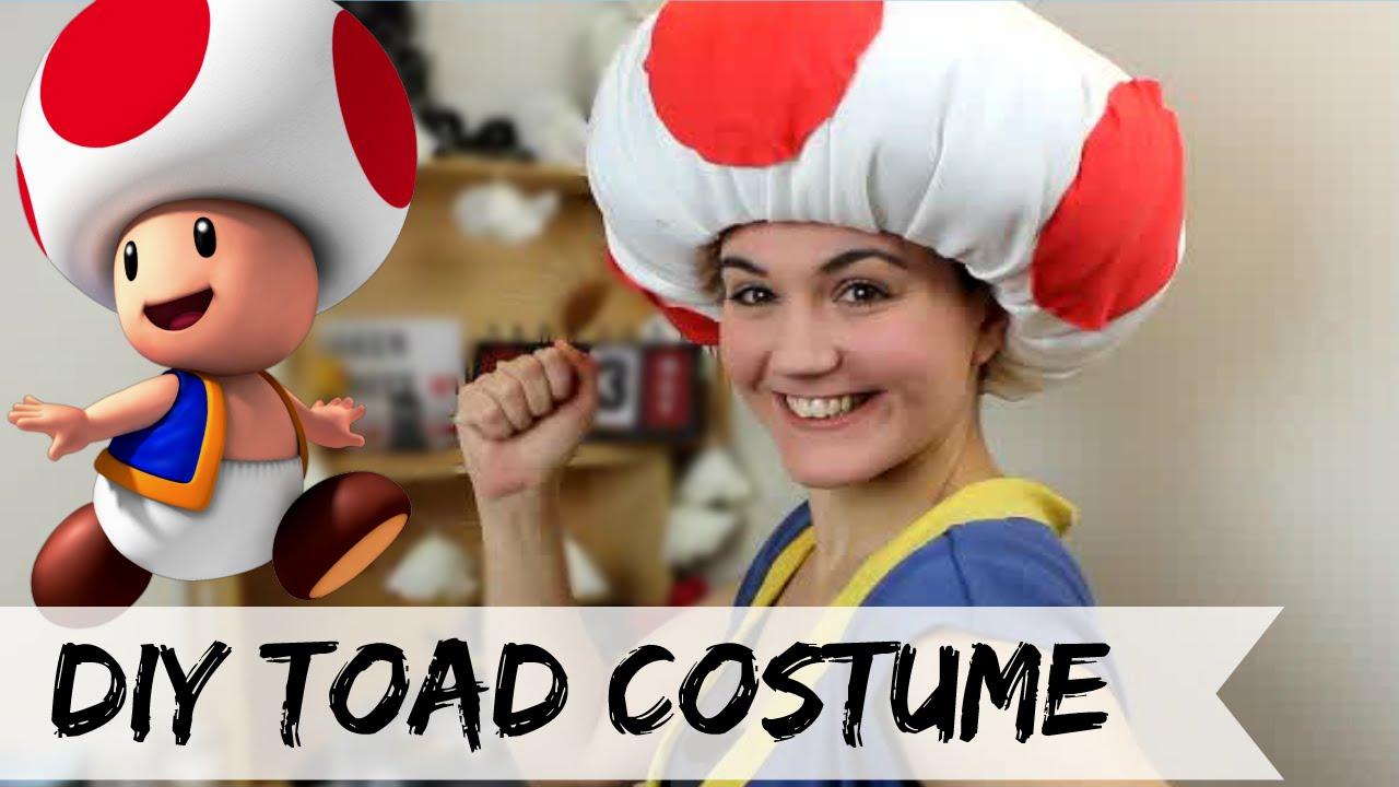 Toad Mario Kart Costume