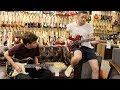 John Bird & Jake Curran from Niall Horan's Band at Norman's Rare Guitars