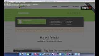 Creating a weblog with Scala Play MongoDB Angularjs REST/JSON