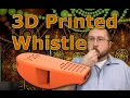 V29 3D Printed Whistle Test How Loud Will it Get?  PLA+ Thingiverse