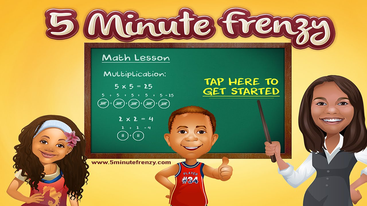 5 Minute Frenzy App - YouTube