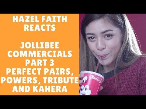 Jollibee Commercials (Part 3) [ Perfect Pairs, Powers, Tribute, Kahera]    Hazel Faith Reacts