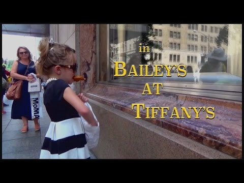 CUTE 6-Yr Old's BREAKFAST AT TIFFANY'S Opening Remake