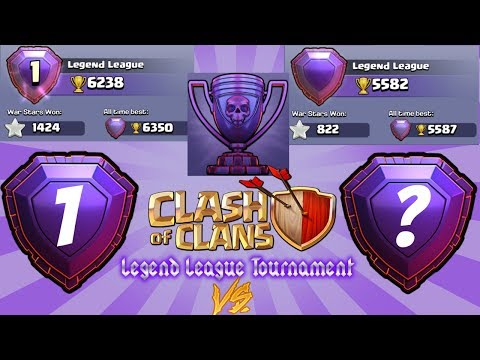 Number#1 Player in the World Vs ME - clash of clans 2017