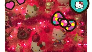 My AWESOME Hello Kitty Christmas Tree! Thumbnail