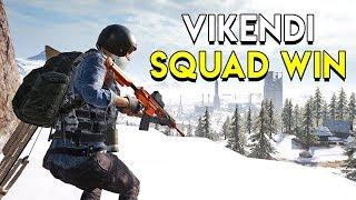 Vikendi Squads Win! - PUBG