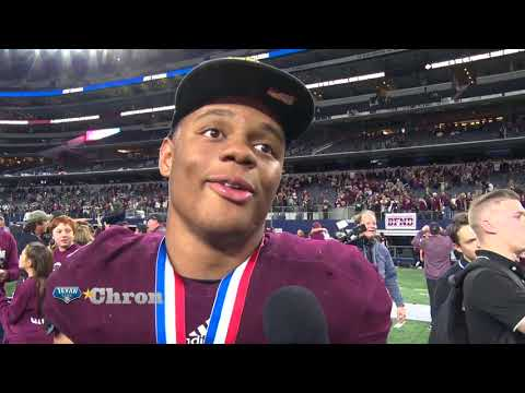 Post Game Interview: Cy Fair -Trenton Kennedy