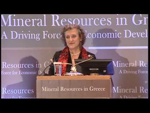 3rd International Forum Mineral Resources in Greece (M. Evagelidou / K. Mitsotakis)