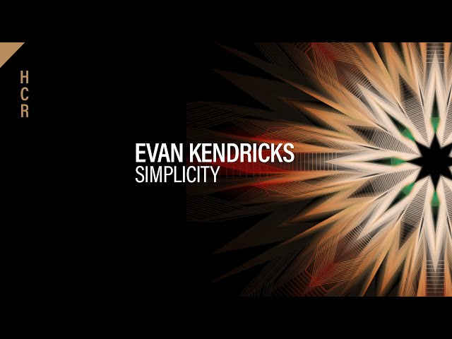 Evan Kendricks - Simplicity [High Contrast Recordings]