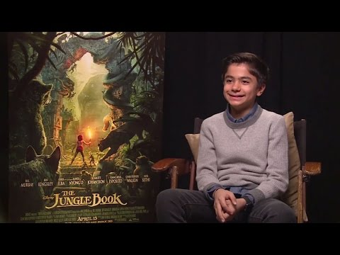 Neel Sethi Interview - The Jungle Book (HD)