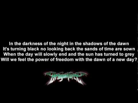 DragonForce - Dawn Over A New World | Lyrics on screen | HD