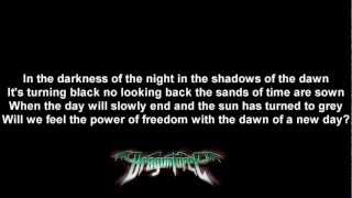 Скачать DragonForce Dawn Over A New World Lyrics On Screen HD