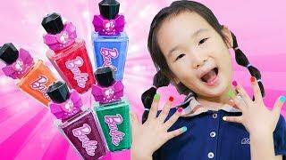 어린이 매니큐어로 영어 색깔 놀이 해봐요! 보람튜브아 매니큐어를 손에 예쁜게 발라요- 마슈토이 Mashu ToysReview