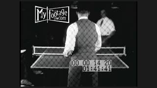 1930s Ping Pong Tournament