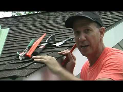 Installing Drip Edge On Your Roof!