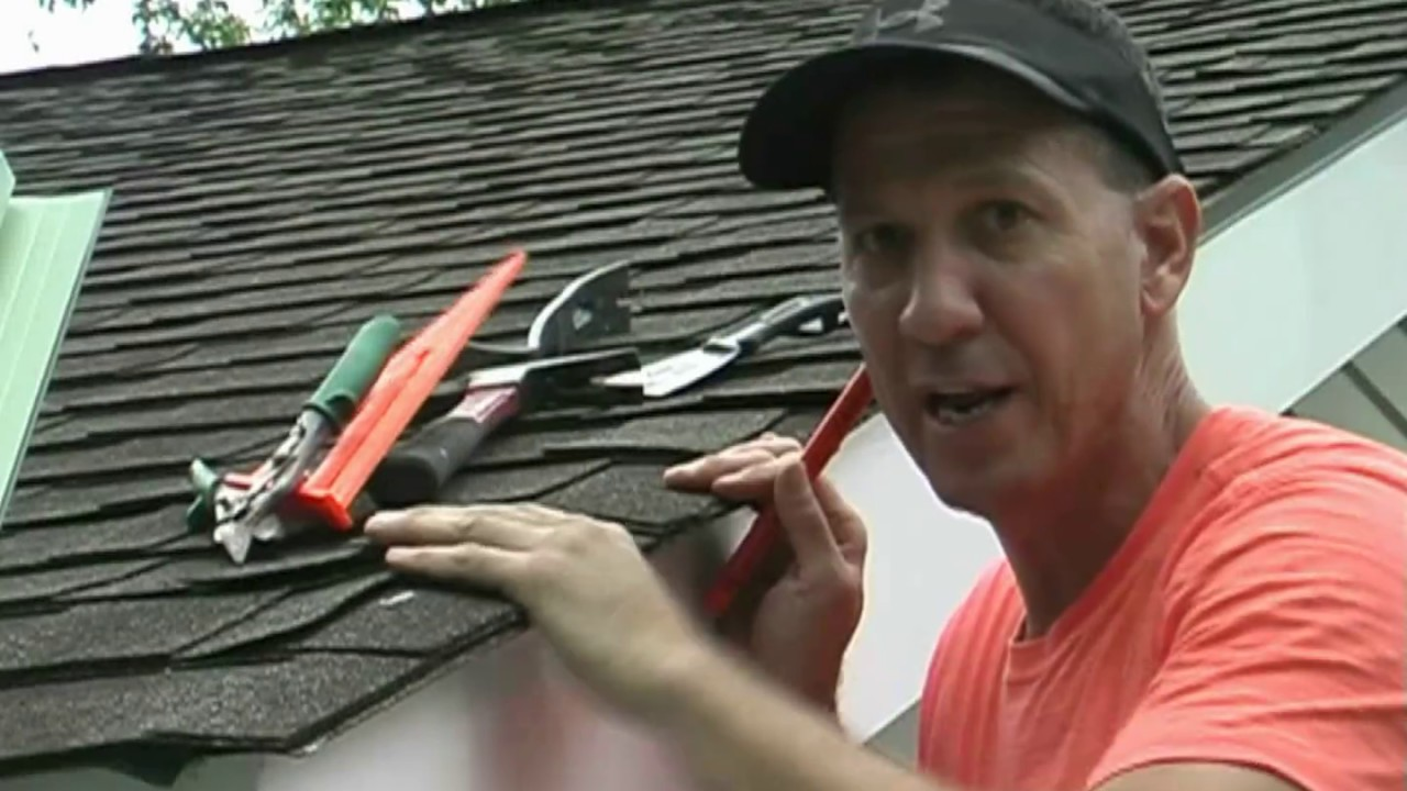 Installing Drip Edge On Your Roof Youtube