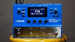Ambient Guitar Gear Review - Boss SY-300 Guitar Synthesizer
