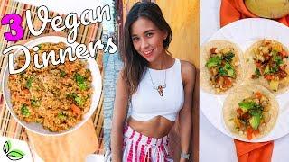 3 VEGAN DINNERS FOR WEIGHTLOSS! RAWVANA