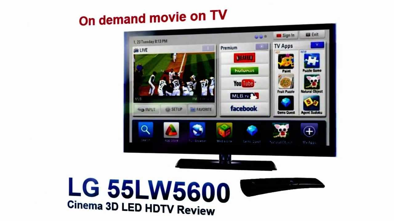 Drivers Update: LG 55LW5600 TV