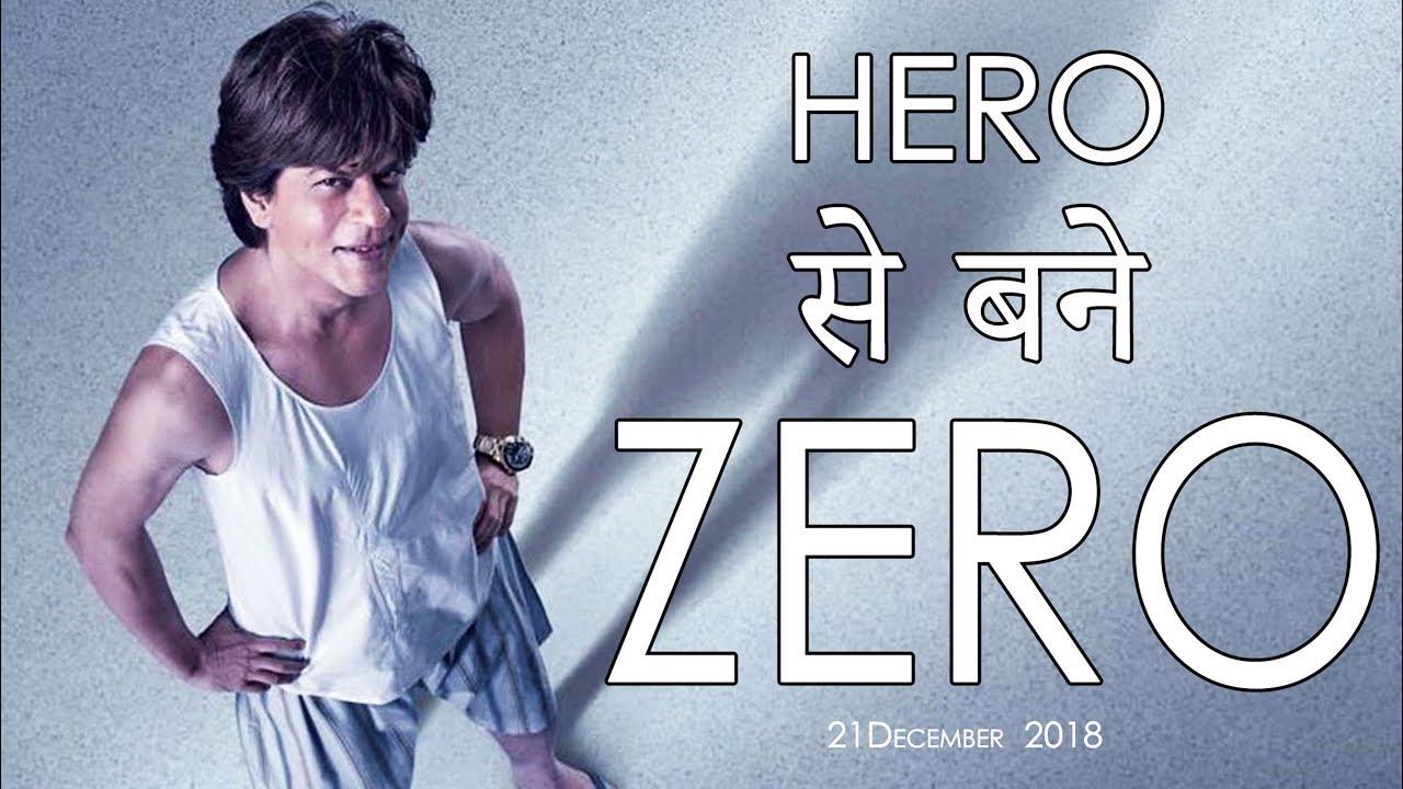 Shah Rukh Khan ZERO Movie Look Hero Zero Shah Rukh