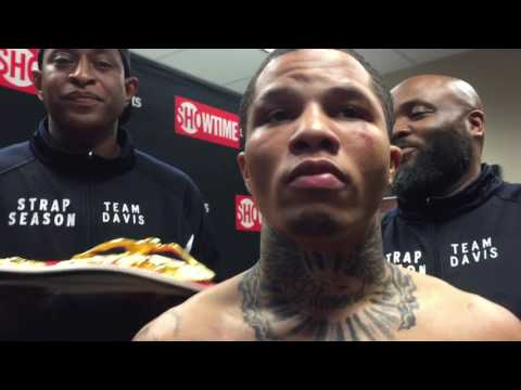 Gervonta tank Davis after big win for world title