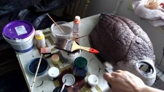 видео Покраска чучел уток: какой краской красить, расскраска своими руками