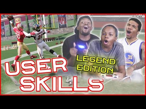 99 OVR LEGEND MATCHUP! JERRY RICE VS DEION SANDERS! - User Skills Challenge Ep.6