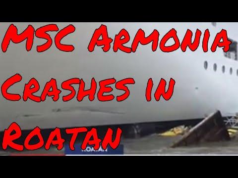 MSC Armonia Crashes in Roatan Quantum of the Seas Moving to Singapore Norwegian Sun Updates