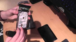 how to reuse old hard drives!