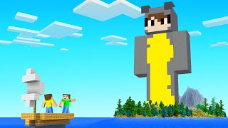 We FOUND A HЏGE SLOGO STATUE Base In Minecraft! (secrets)