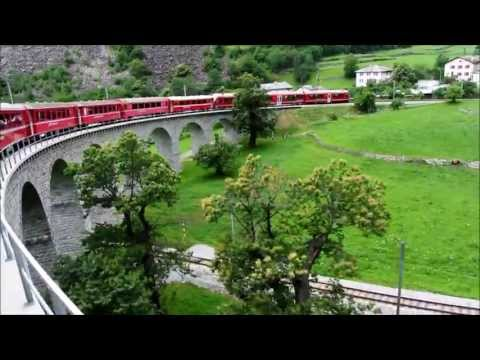 Chur to Tirano on the Rhaetian Railway (Bernina Line)
