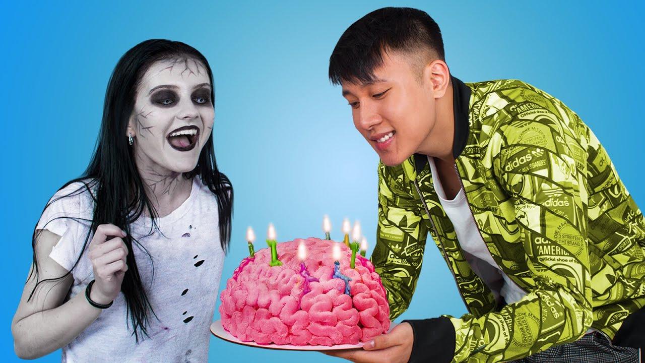 8 идей для дня рождения зомби / Если твой друг зомби