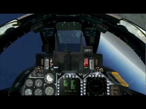 FSX FILM ,, F-14 & Awesomeness at High Altitude '' HD