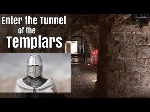 Walking the Templars' Tunnel at Akko