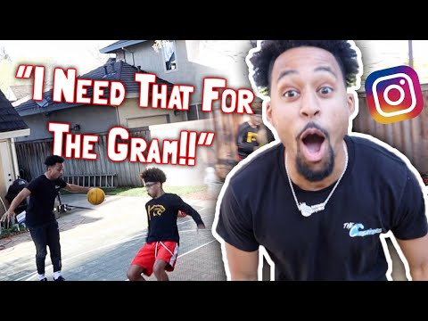 'I NEED THAT FOR THE GRAM' Slippery Basketball Challenge!! | Feat. ForeiignBoii