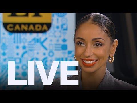 Mya Live In Studio + Team Canada Sings Celine Dion   ET Canada Live