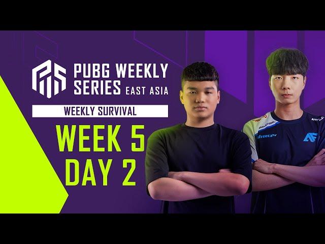 PWS 東亞聯賽 Phase 1 每周生存戰 W5D2
