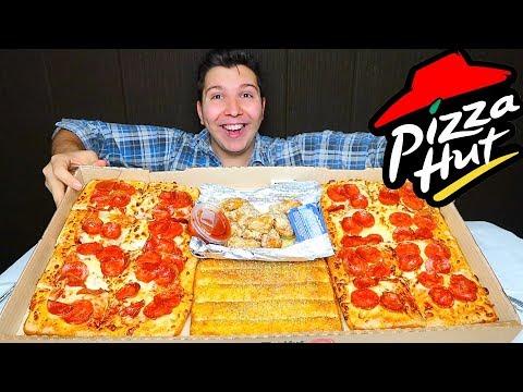 Pizza Hut Box • MUKBANG