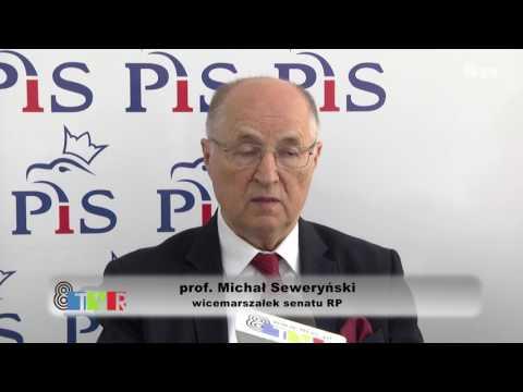 O polityce krajowej wicemarszałek Senatu - Michał Seweryński
