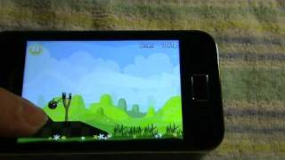 Samsung S5830 Galaxy Ace Angry Birds Game