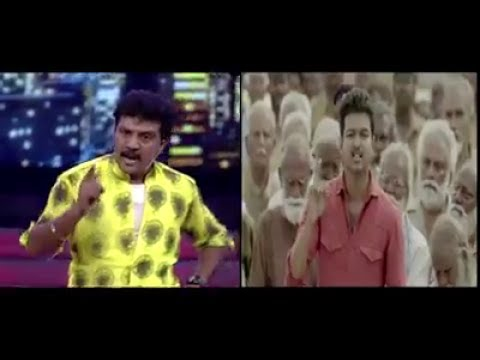 Actor Vijay's Best Friend Sanjeev Performs famous Kaththi Press meet Scene